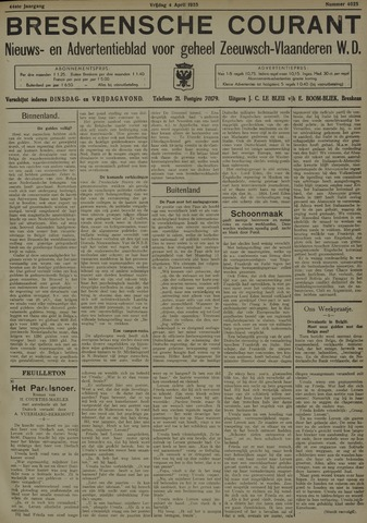 Breskensche Courant 1935-04-05