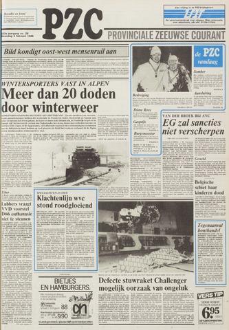 Provinciale Zeeuwse Courant 1986-02-03