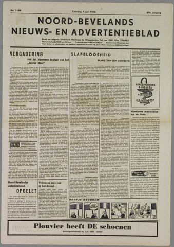Noord-Bevelands Nieuws- en advertentieblad 1966-06-04