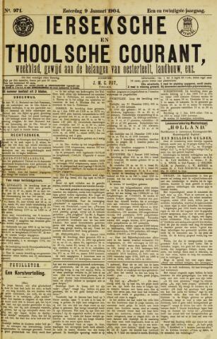 Ierseksche en Thoolsche Courant 1904-01-09