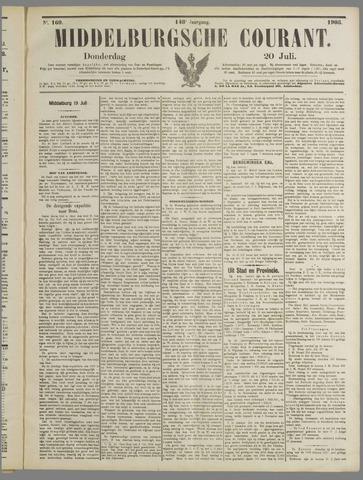 Middelburgsche Courant 1905-07-20