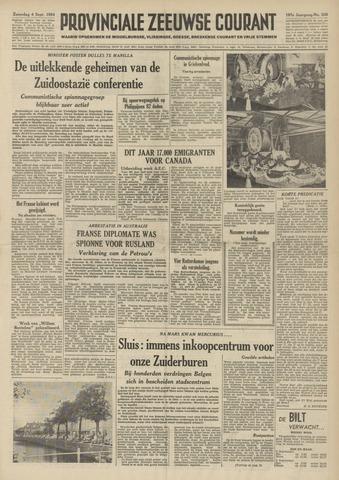 Provinciale Zeeuwse Courant 1954-09-04