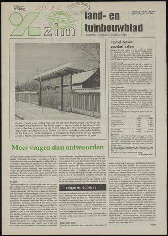 Zeeuwsch landbouwblad ... ZLM land- en tuinbouwblad 1990-01-19