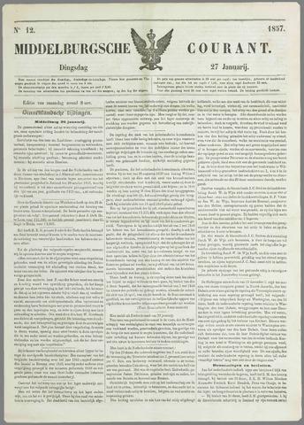 Middelburgsche Courant 1857-01-27