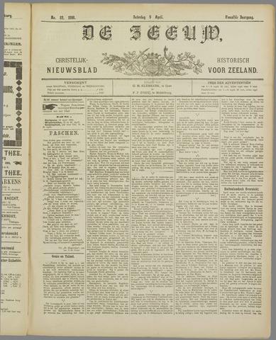 De Zeeuw. Christelijk-historisch nieuwsblad voor Zeeland 1898-04-09