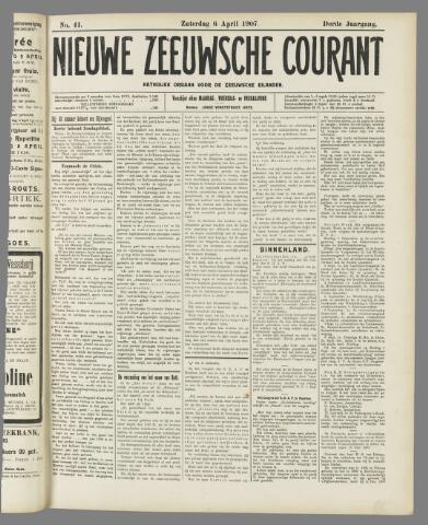 Nieuwe Zeeuwsche Courant 1907-04-06