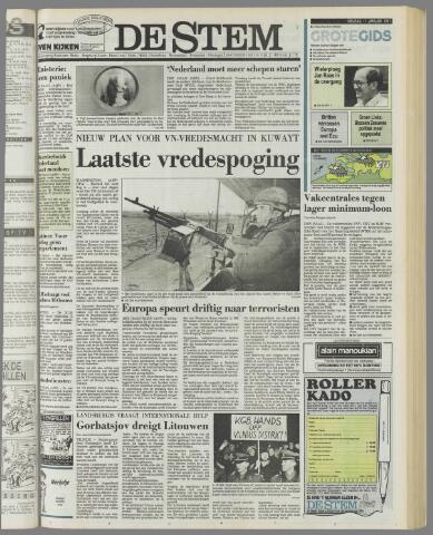 de Stem 1991-01-11