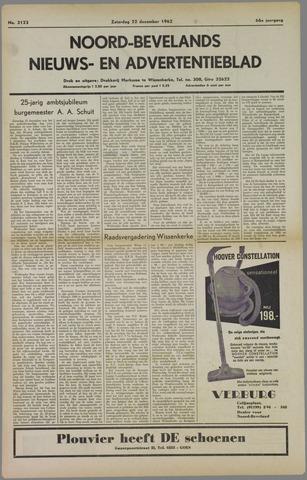Noord-Bevelands Nieuws- en advertentieblad 1962-12-22