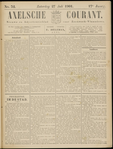Axelsche Courant 1901-07-27