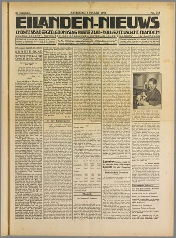 Eilanden-nieuws. Christelijk streekblad op gereformeerde grondslag 1936-03-07