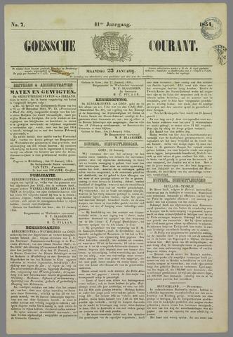 Goessche Courant 1854-01-23