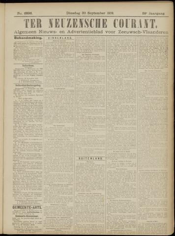 Ter Neuzensche Courant. Algemeen Nieuws- en Advertentieblad voor Zeeuwsch-Vlaanderen / Neuzensche Courant ... (idem) / (Algemeen) nieuws en advertentieblad voor Zeeuwsch-Vlaanderen 1919-09-30