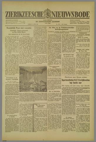 Zierikzeesche Nieuwsbode 1952-04-15