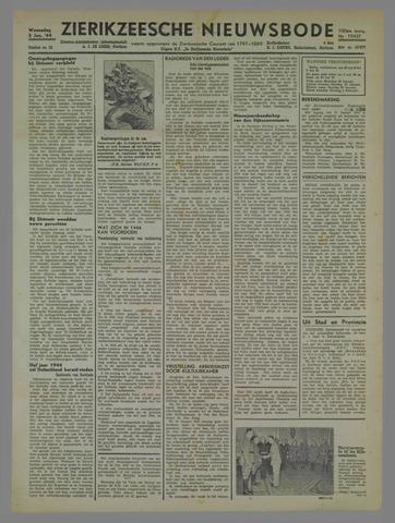 Zierikzeesche Nieuwsbode 1944-01-05
