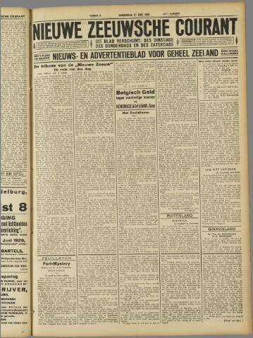 Nieuwe Zeeuwsche Courant 1929-06-27