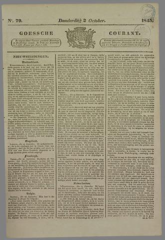 Goessche Courant 1845-10-02