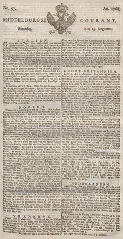 Middelburgsche Courant 1768-08-13