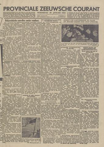 Provinciale Zeeuwse Courant 1943-01-20