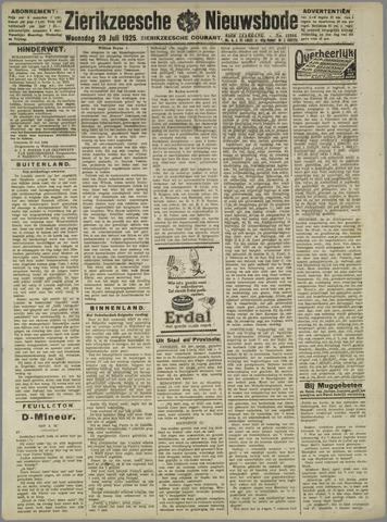 Zierikzeesche Nieuwsbode 1925-07-29
