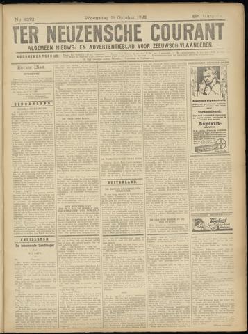 Ter Neuzensche Courant. Algemeen Nieuws- en Advertentieblad voor Zeeuwsch-Vlaanderen / Neuzensche Courant ... (idem) / (Algemeen) nieuws en advertentieblad voor Zeeuwsch-Vlaanderen 1928-10-31