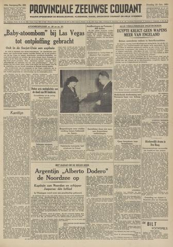 Provinciale Zeeuwse Courant 1951-10-23