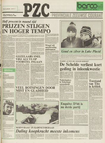 Provinciale Zeeuwse Courant 1980-02-15