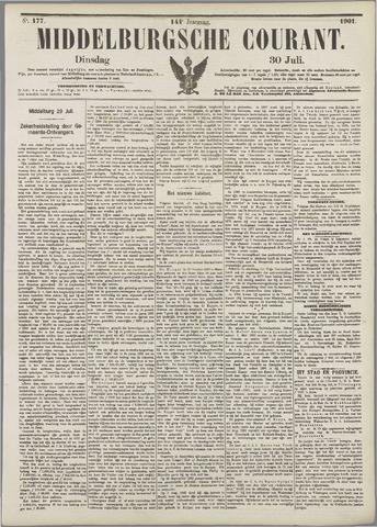 Middelburgsche Courant 1901-07-30