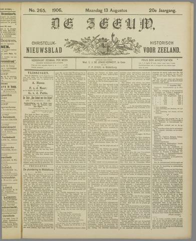 De Zeeuw. Christelijk-historisch nieuwsblad voor Zeeland 1906-08-13