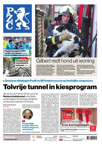 Provinciale Zeeuwse Courant 2017-01-16