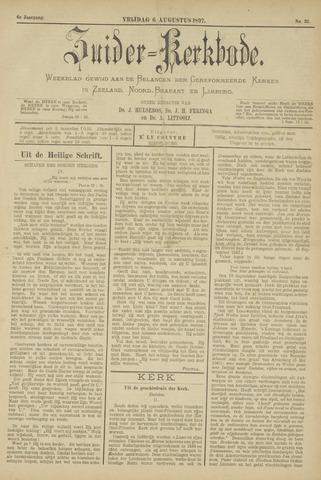 Zuider Kerkbode, Weekblad gewijd aan de belangen der gereformeerde kerken in Zeeland, Noord-Brabant en Limburg. 1897-08-06