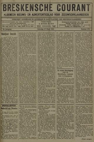 Breskensche Courant 1922-03-25
