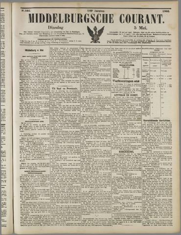 Middelburgsche Courant 1903-05-05