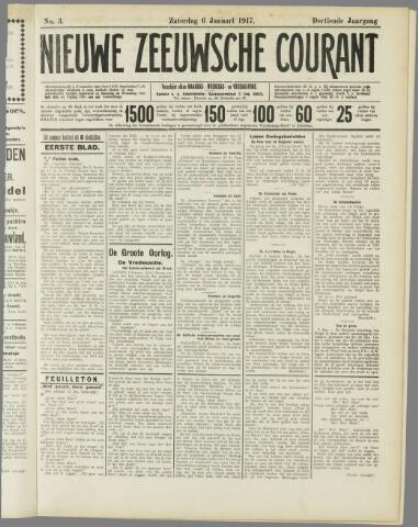 Nieuwe Zeeuwsche Courant 1917-01-06