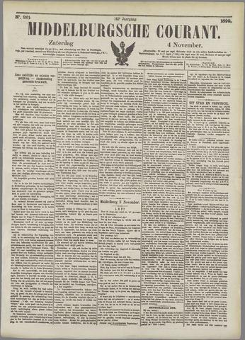 Middelburgsche Courant 1899-11-04