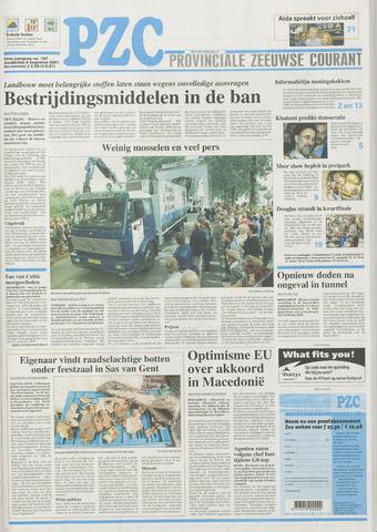 Provinciale Zeeuwse Courant 2001-08-09