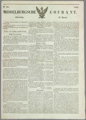 Middelburgsche Courant 1865-03-25