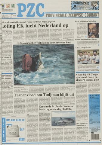 Provinciale Zeeuwse Courant 1999-12-12
