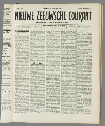 Nieuwe Zeeuwsche Courant 1908-10-31