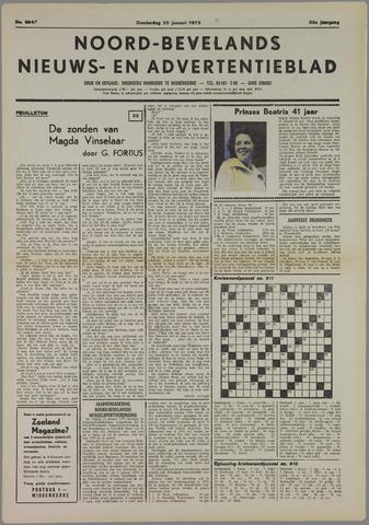 Noord-Bevelands Nieuws- en advertentieblad 1979-01-25