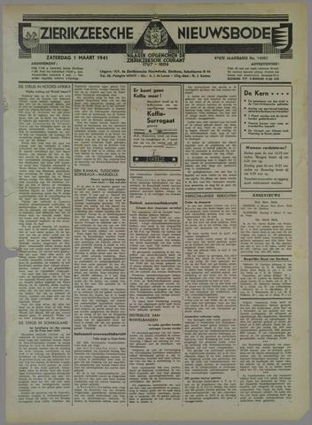 Zierikzeesche Nieuwsbode 1941-03-01