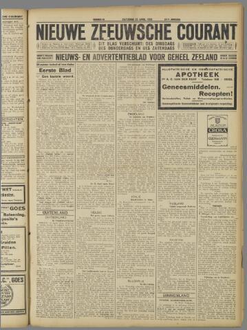 Nieuwe Zeeuwsche Courant 1925-04-25
