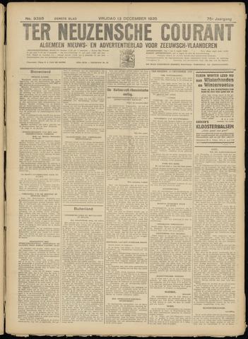 Ter Neuzensche Courant. Algemeen Nieuws- en Advertentieblad voor Zeeuwsch-Vlaanderen / Neuzensche Courant ... (idem) / (Algemeen) nieuws en advertentieblad voor Zeeuwsch-Vlaanderen 1935-12-13