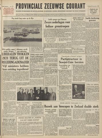 Provinciale Zeeuwse Courant 1962-11-20