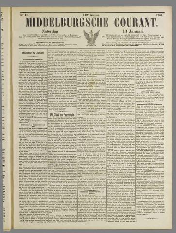 Middelburgsche Courant 1906-01-13