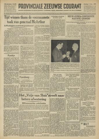 Provinciale Zeeuwse Courant 1950-12-05