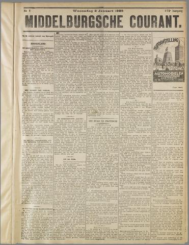 Middelburgsche Courant 1929