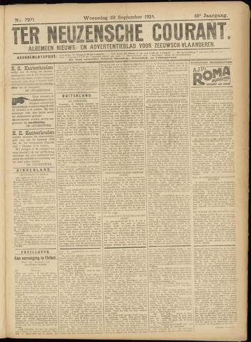 Ter Neuzensche Courant. Algemeen Nieuws- en Advertentieblad voor Zeeuwsch-Vlaanderen / Neuzensche Courant ... (idem) / (Algemeen) nieuws en advertentieblad voor Zeeuwsch-Vlaanderen 1926-09-29