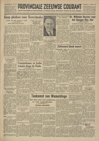 Provinciale Zeeuwse Courant 1949-03-10