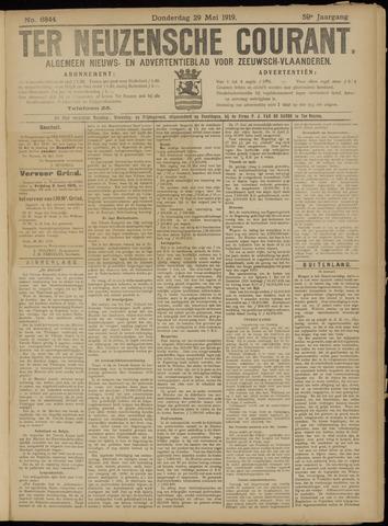 Ter Neuzensche Courant. Algemeen Nieuws- en Advertentieblad voor Zeeuwsch-Vlaanderen / Neuzensche Courant ... (idem) / (Algemeen) nieuws en advertentieblad voor Zeeuwsch-Vlaanderen 1919-05-29