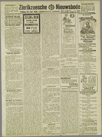 Zierikzeesche Nieuwsbode 1926-06-25